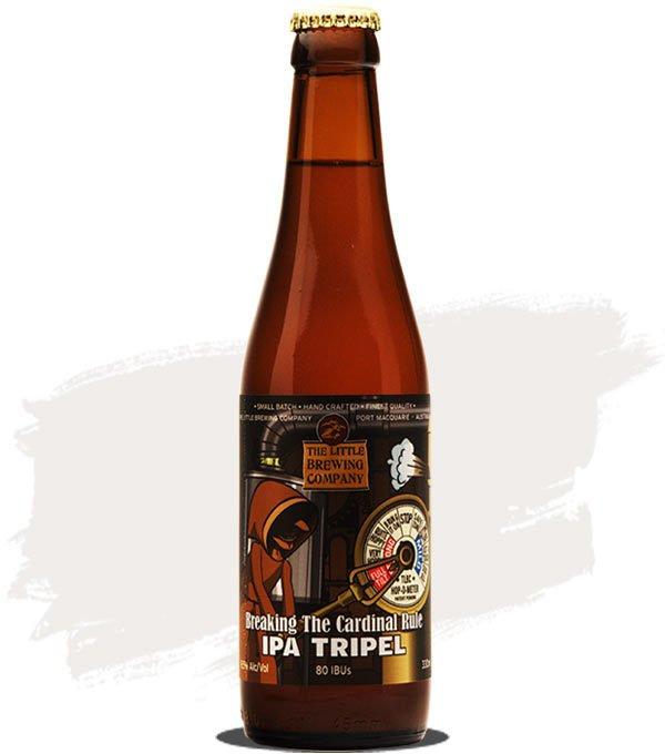 Little Brewing Breaking The Cardinal Rule IPA Tripel