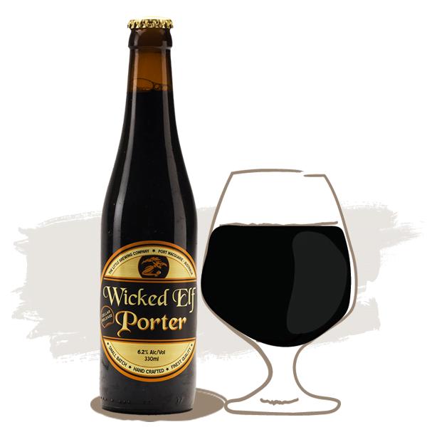 Little Brewing wicked elf porter