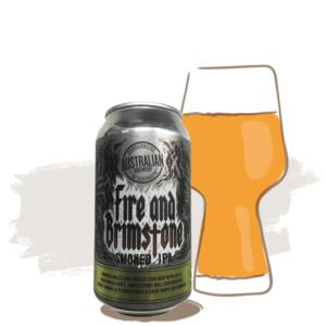 Australian Brewery Fire & Brimstone Smoked IPA