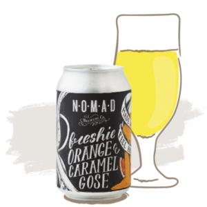 Nomad Freshie Orange & Caramel Gose