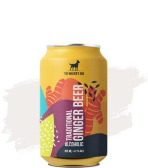 The Welder's Dog Farmhouse Ginger Beer