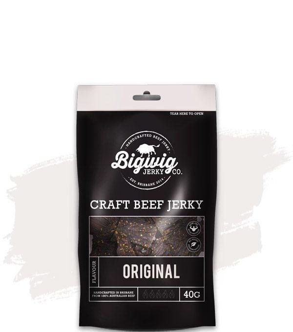 BIGWIG JERKY CO. ORIGINAL BEEF JERKY (40G)