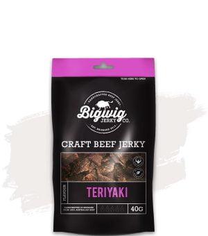 BIGWIG JERKY CO. TERIYAKI BEEF JERKY (40G)