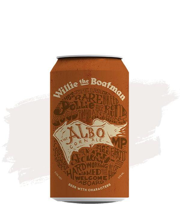Willie the Boatman The Albo Corn Ale