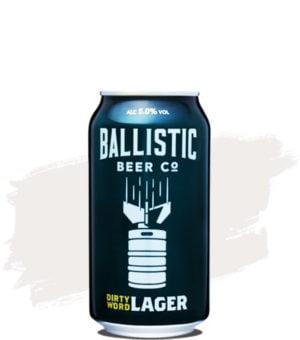 Ballistic Dirty Word Lager