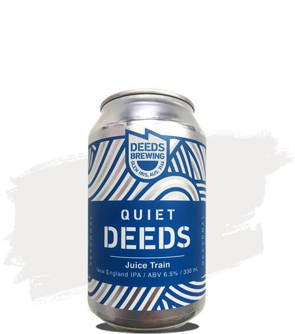 Quiet Deeds Juice Train NEIPA