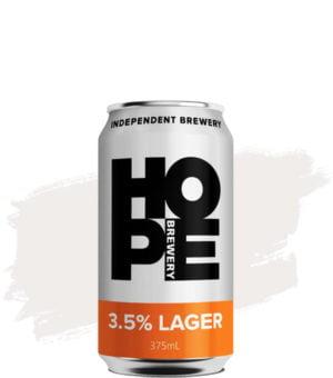 Hope 3.5% Lager