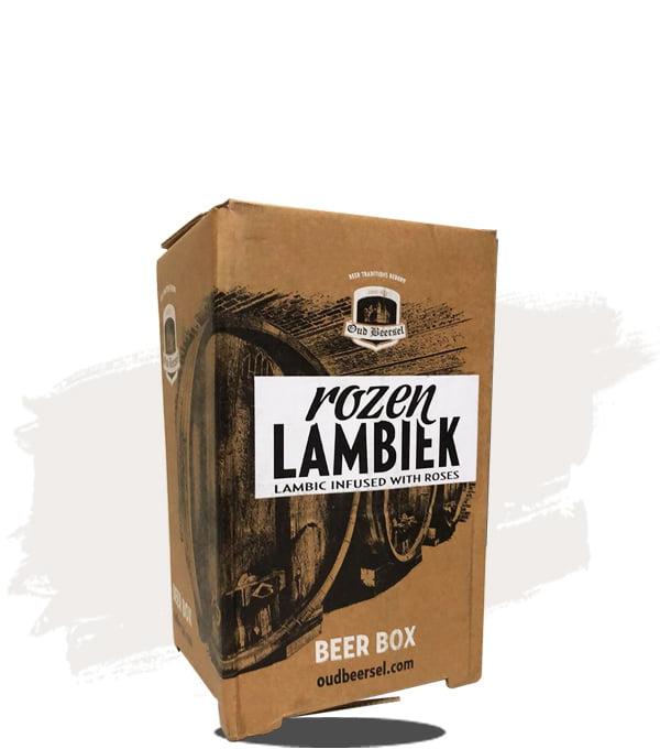 Oud Beersel B-i-B Rose Petal Infused Lambic Wild Sour 3.1LT