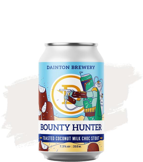Dainton Bounty Hunter Toasted Coconut Milk Choc Stout