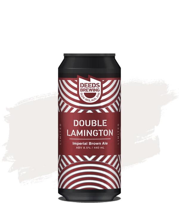 Deeds Brewing Double Lamington Imperial Brown Ale
