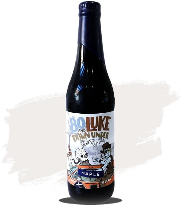 Hawkers / Against the Grain Rum Barrel Aged Bo & Luke Down Under Maple