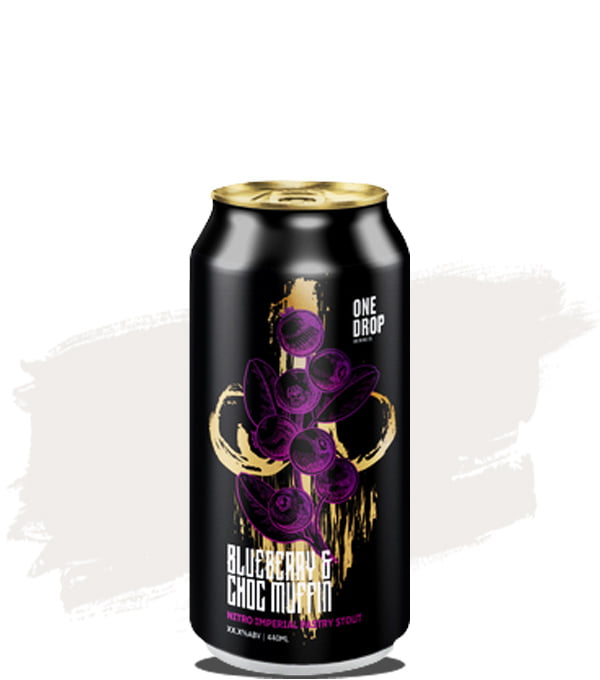 One Drop Blueberry Choc Muffin Pastry Stout