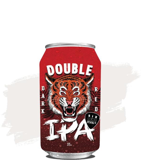 Six String Double Dark Red IPA