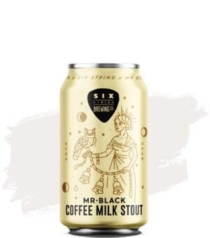 Six String & Mr Black Coffee Milk Stout