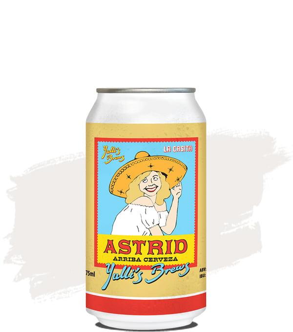 Yulli's Brews Astrid Arriba Cerveza Lager