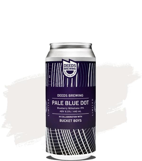 Deeds Brewing Pale Blue Dot Blueberry Milkshake IPA