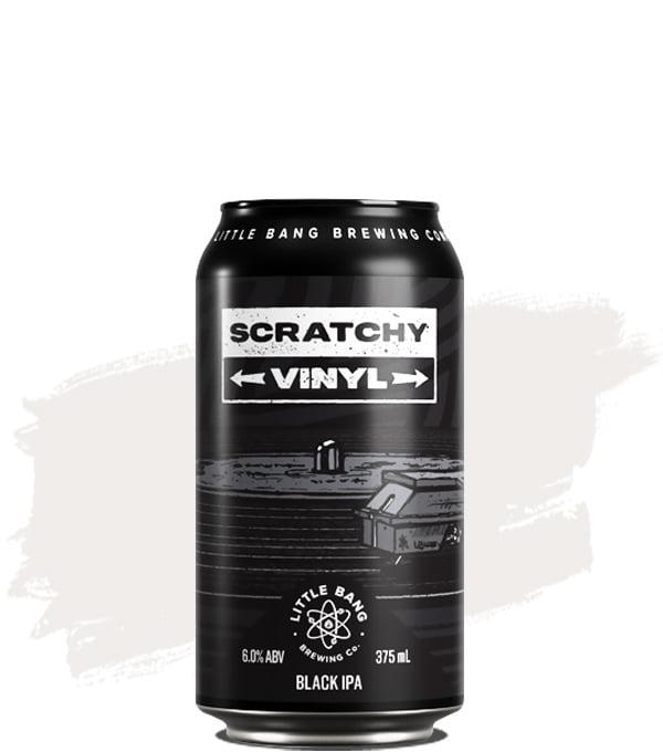 Little Bang Scratchy Vinyl Black IPA
