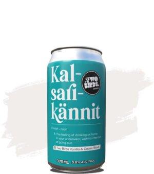 Two Birds Kalsarikännit Vanilla & Cacao Stout