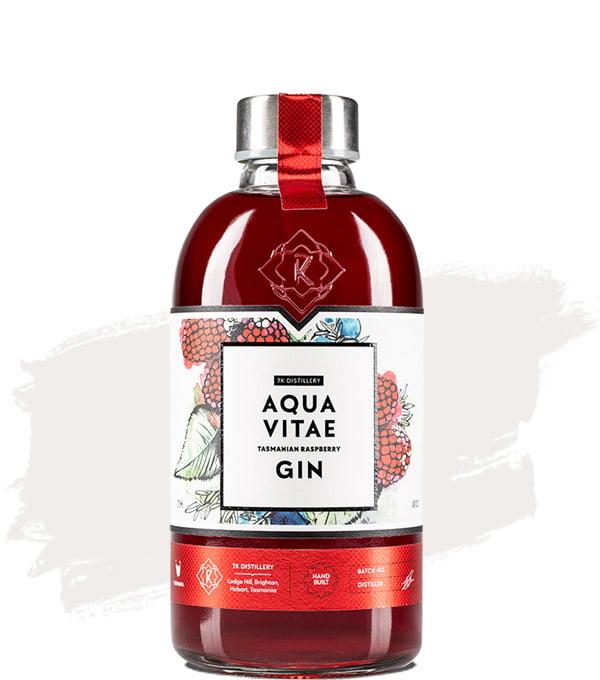 7K Aqua Vitae Raspberry Gin 725ml