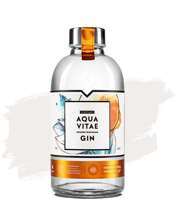 7K Aqua Vitae Tasmanian Gin 725ml