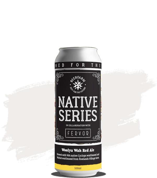 Beerfarm NATIVE #7 - Woolya Wah Red Ale