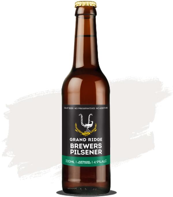 Grand Ridge Brewers Pilsner Bottle