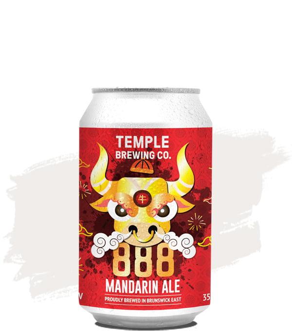 Temple Brewing 888 Mandarin Pale Ale