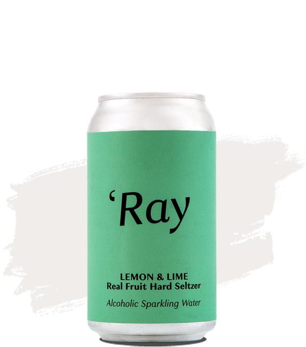 Hop Nation Ray Lemon & Lime Real Fruit Hard Seltzer