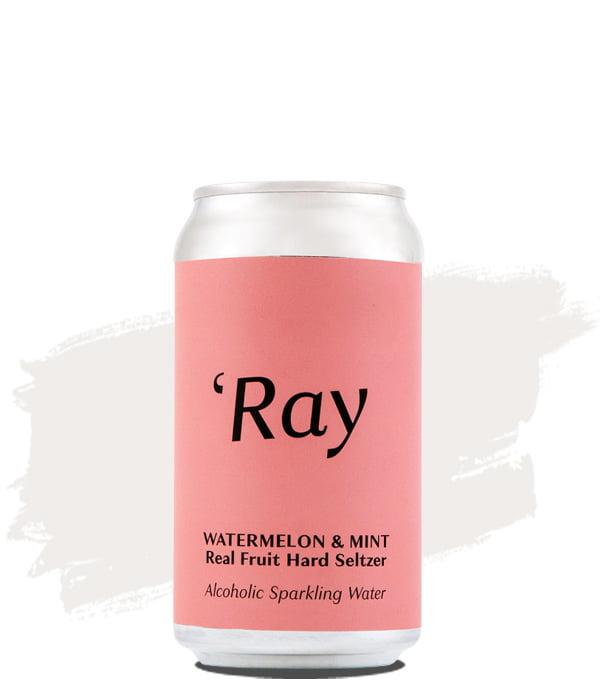 Hop Nation Ray Watermelon & Mint Real Fruit Hard Seltzer