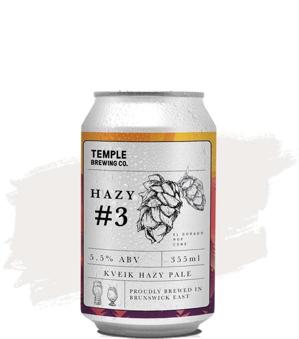Temple Hazy #3 Kveik Hazy Pale