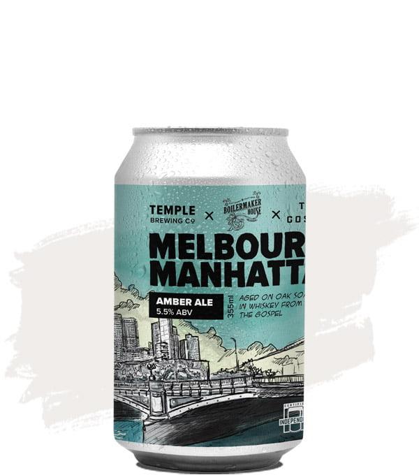 Temple Brewing Melbourne Manhattan Amber Ale