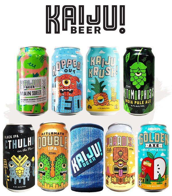 Kaiju Beer Pack